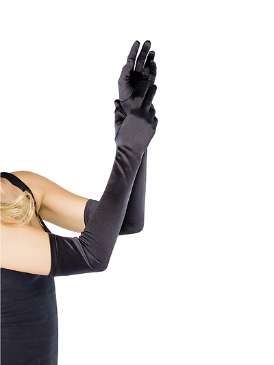 Lady-Handschuhe Satin