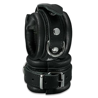 XXdreamSToys Leder-Handfesseln schwarz