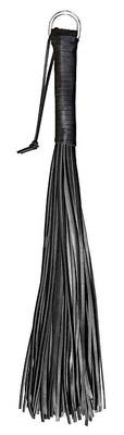 XXdreamSToys Peitsche mit 48 Rindslederriemen schwarz