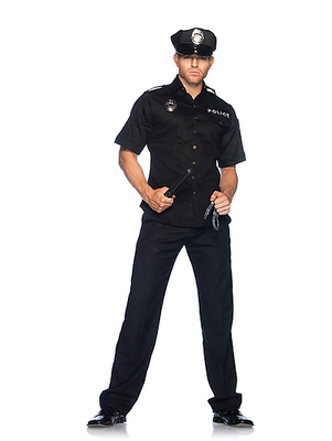 Police Officer Set 4-teilig