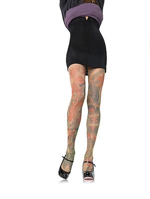 Strumpfhose Tattoo