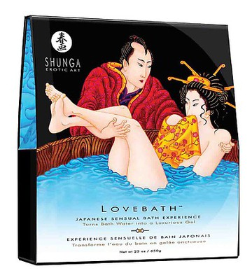 SHUNGA Lovebath Ocean Temptations  650g