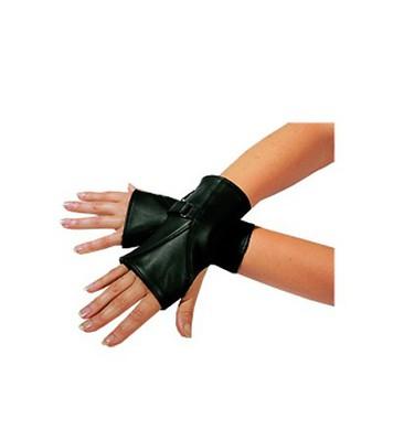 Fingerlose Handschuhe aus Leder Ledapol LE5616