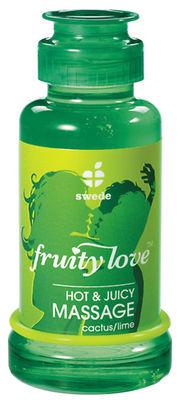Fruity Love Massage-Öl Kaktus/Limone