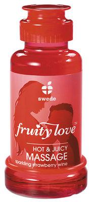 Fruity Love Massage-Öl Erdbeersekt