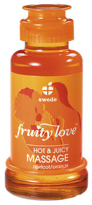 Fruity Love Massage-Öl Aprikose/Orange
