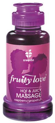 Fruity Love Massage-Öl Himbeere/Grapefruit