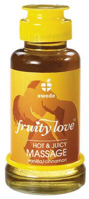 Fruity Love Massage-Öl Vanille/Zimt