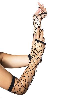 Fingerless Industrial Net Gloves