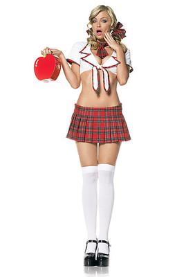 Schulmädchen-Dress