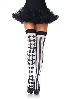 Harlequin Thigh Highs