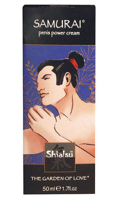 SHIATSU Samurai Penis Power Cream 50ml