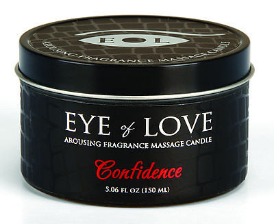 EYE OF LOVE Pheromon-Massage Kerze - Confidence 150ml
