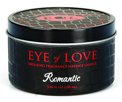 EYE OF LOVE Pheromon-Massage Kerze - Romantic 150ml