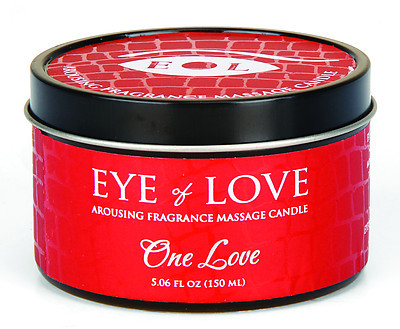 EYE OF LOVE Pheromon-Massage Kerze - One Love 150ml