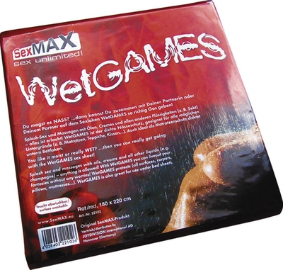 JOYDIVISION SexMAX Wetgames Laken 180x220 rot