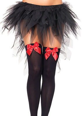 Witchy Tulle Skirt With Train