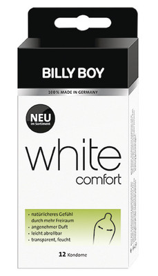 BILLY BOY White Comfort 12 St. SB-Pack.