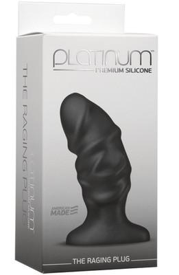 DOC JOHNSON Platinum The Raging Plug black