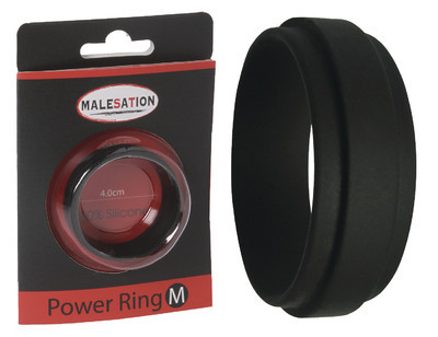 MALESATION Power Ring M (Durchmesser 4cm)