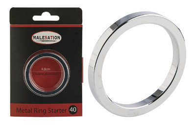 MALESATION Metal Ring Starter 40