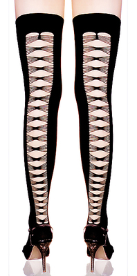 Fashion Stockings mit sexy Muster