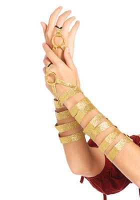 Golden Arm Wraps