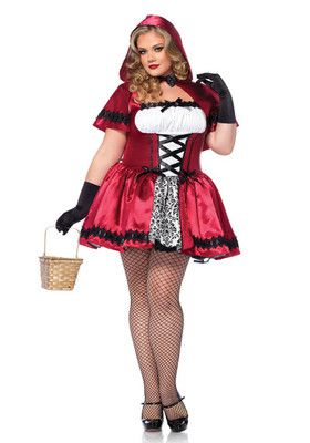 Gothic Red Riding Hood
