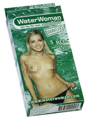 WaterWoman Ribbed 5 Stk.