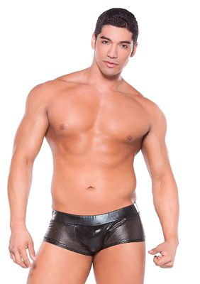 Wetlook Shorts Black Os