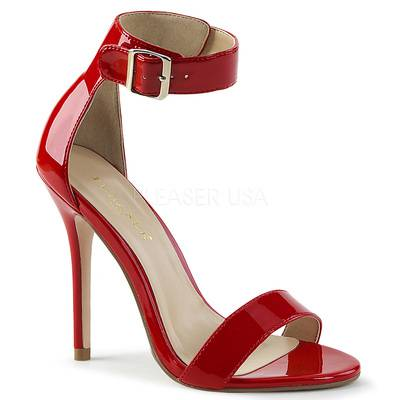 Elegante Sandalette AMUSE-10 Lack rot