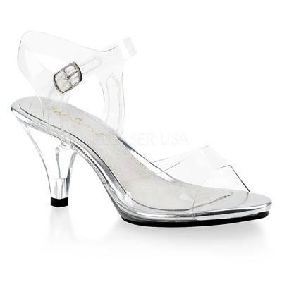 Sandaletten High Heels mit Knöchelriemen BELLE-308