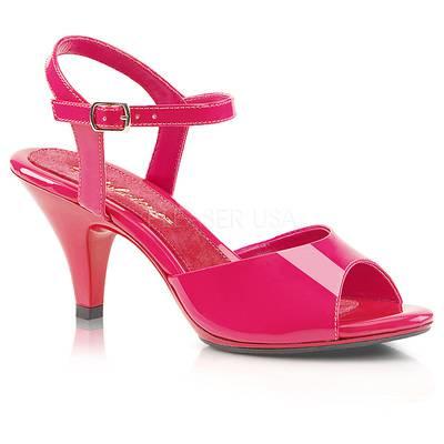 Klassische Lack Sandalette BELLE-309 pink