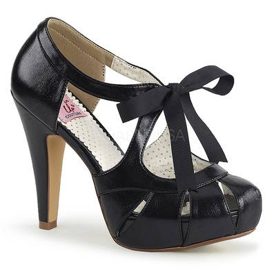 Miniplateau High Heels BETTIE-19 schwarz