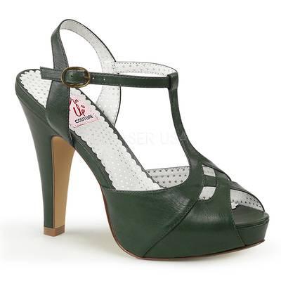 T-Riemchen Sandalette BETTIE-23 grün