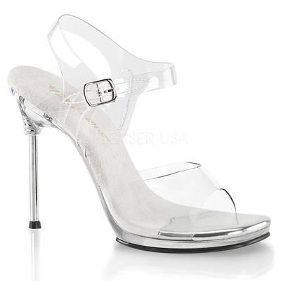 Sandaletten High Heels mit Knöchelriemen CHIC-08