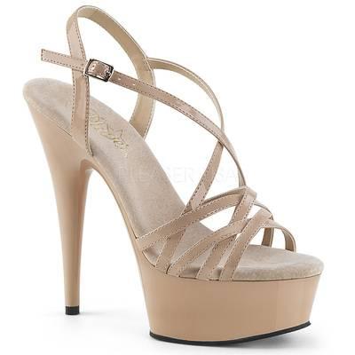 Riemchen Sandalette DELIGHT-613 nude