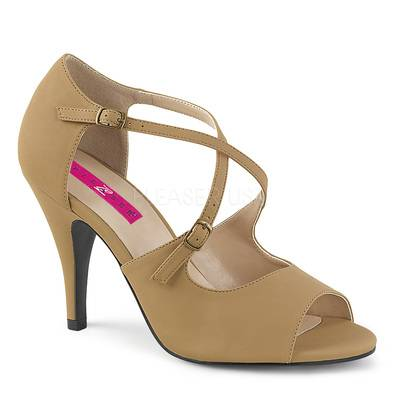 Peep Toe High Heels mit Knöchelriemen DREAM-412