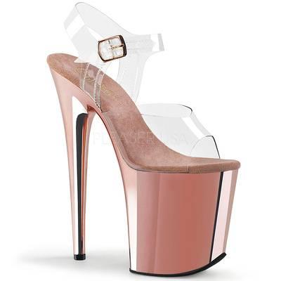 High Heel Sandaletten FLAMINGO-808 rose gold