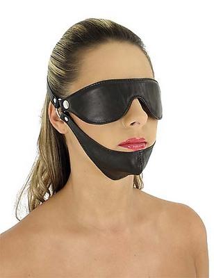 Augenmaske mit Kinnriemen Ledapol LE5386