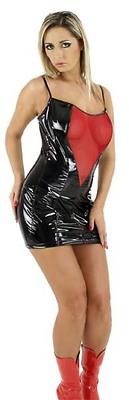 Minikleid aus Lack Ledapol LE1682