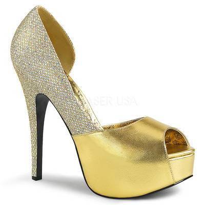 D'Orsay Pumps TEEZE-41W gold