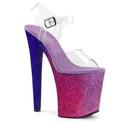 High-Heel mit Plateau XTREME-808OMBRE