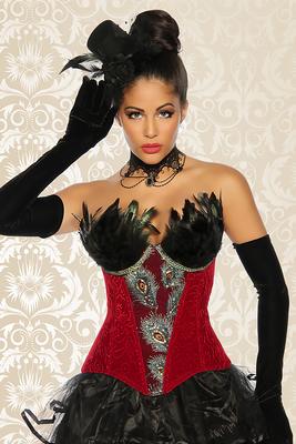 Burlesque-Corsage Lulu