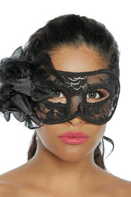 Brokat-Maske