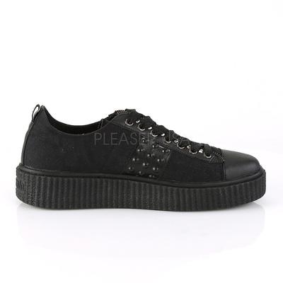 Sneaker mit Schnürung SNK107/BCA schwarz