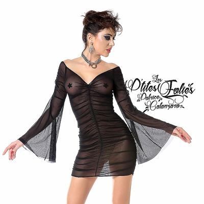 Transparenz-Kleid
