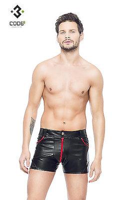 Club-Shorts schwarz/rot
