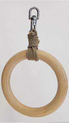 Bondage Shibari Ring aus Holz