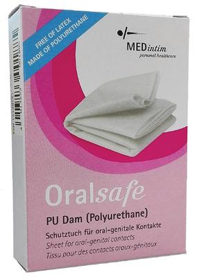 ORALsafe PU-Lecktücher Vanille